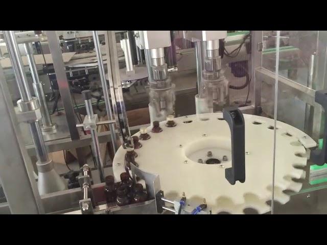 Fabrika fiyat yüksek hızlı döner şişe kapağı için otomatik kapatma makinesi