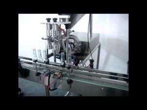 Satılık otomatik çift kafaları sıvı el yıkama dolum makinası