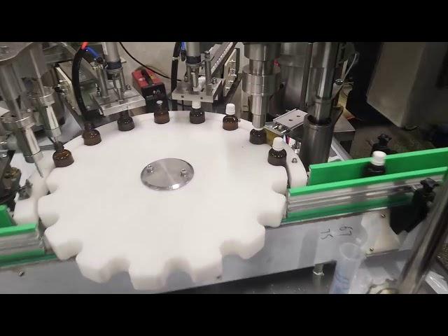 küçük sıvı şişe dolum makinası