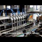 Otomatik 6 kafaları dağıtım deterjan klor sıvı dolum dolgu makinesi hattı