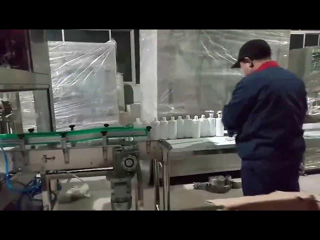 el sabunu jel alkol dolum şişeleme hattı makinesi
