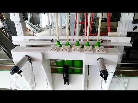 sıcak satış otomatik hipokloröz asit dezenfektan sıvı dolum makinası