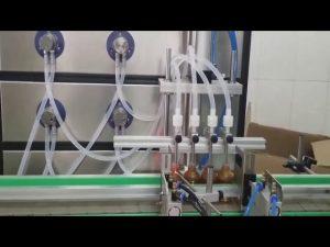 sıvılar için otomatik 10ml 30ml 60ml 100ml şişe kozmetik dolum makinası
