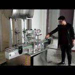 Kozmetik dolum makinası, otomatik pistonlu macun sıvı sabun dolum makinası