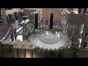 gıda, sos ve kozmetik endüstrilerinin yüksek hassasiyetli döner kapatma makinesi