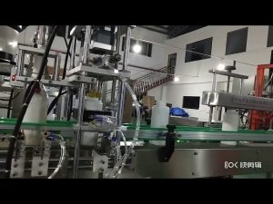 sıvı amino asit gübre dolum makinası