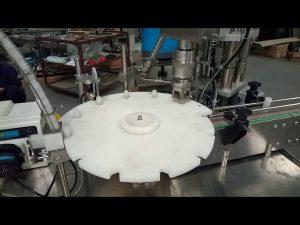 Sıcak satış tam otomatik 10 ml 20 ml 25 ml test tüpleri dolum kapaklama paketleme makinesi