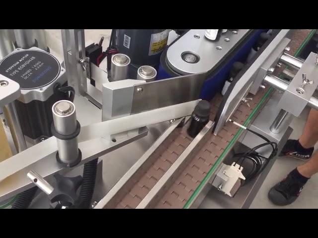 3000 bph otomatik dikey flakon şişeleri etiket etiketleme makinesi