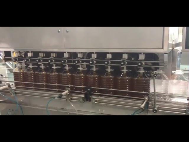 yüksek kaliteli dayanıklı otomatik 30ml şişe dolum makinası