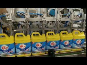 otomatik 8 kafaları çamaşır deterjanı şampuan şişesi dolum makinası