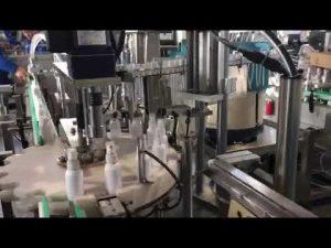 dezenfektan sıvı dolum makinası, etanol dezenfektanlar dolum makinası