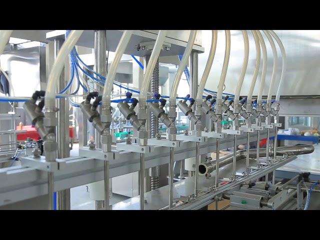 dezenfektan sıvı el sabunu alkol şişe dolum makinası
