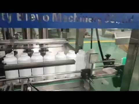 çamaşır deterjanı şişe dolum makinası, çamaşır deterjanı sıvı üretim hattı