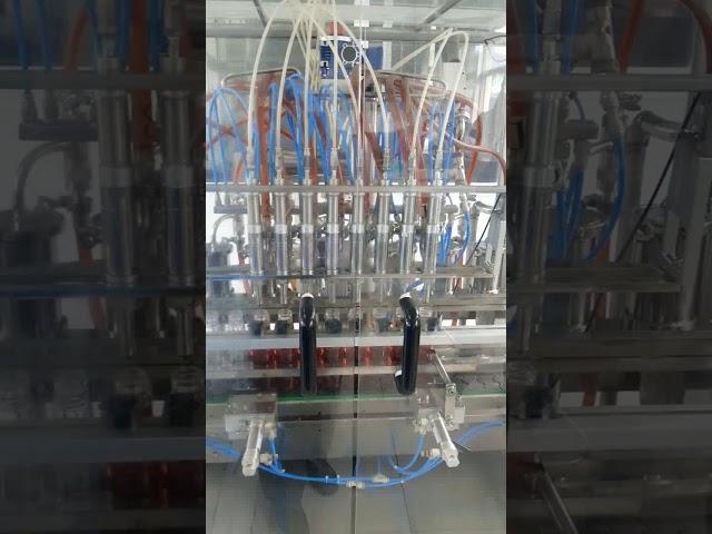 hacimsel sıvı yemeklik yağ pet şişe dolum makinası