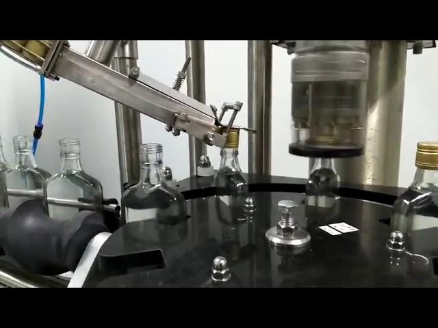 şarap şişesi vida kapatma makinesi