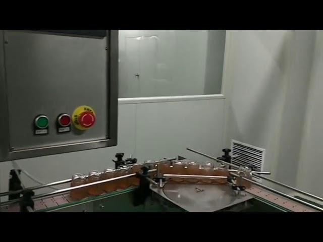 Otomatik meyve reçeli şişe kavanoz makarna sosu yıkama dolum kapaklama etiketleme makinesi