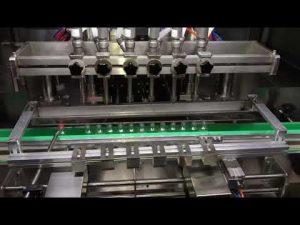 günlük kimya endüstrisi için otomatik alkol dezenfektanı jel dolum makinası