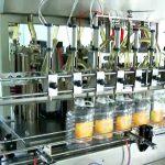 otomatik 5 litrelik piston yağ şişesi dolum makinası