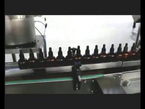 otomatik oje parfüm göz damlası iksir dolum kapaklama makinesi