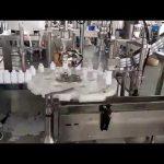 kozmetik tıbbi plastik şişe dolum kapatma makinesi