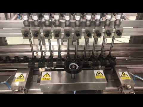 Sıvı alkollü krem doğrusal dolum makinesi, bal kavanozu küçük şişe yağ dolgusu