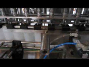 otomatik sıvı deterjan ve dezenfektan sıvı dolum makinası