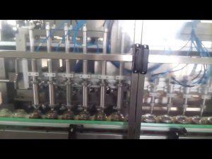 otomatik cam bal kavanozu yoğurt dolum yapıştırma makinesi