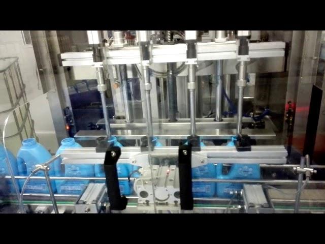 100-1000 ml otomatik sıvı sabun el yıkama el sabunu el dezenfektanı dolum makinası