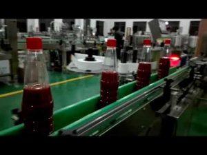 ketçap, reçel, sos için yüksek hızlı tam otomatik şişe dolum makinası