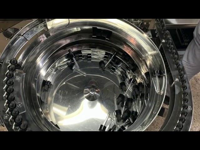 mekanik el tipi cbd şişe dolum ve kapatma makinası