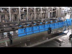 Otomatik el dezenfektanı sıvı sabun dolgu makinesi piston şişe dolum makinası