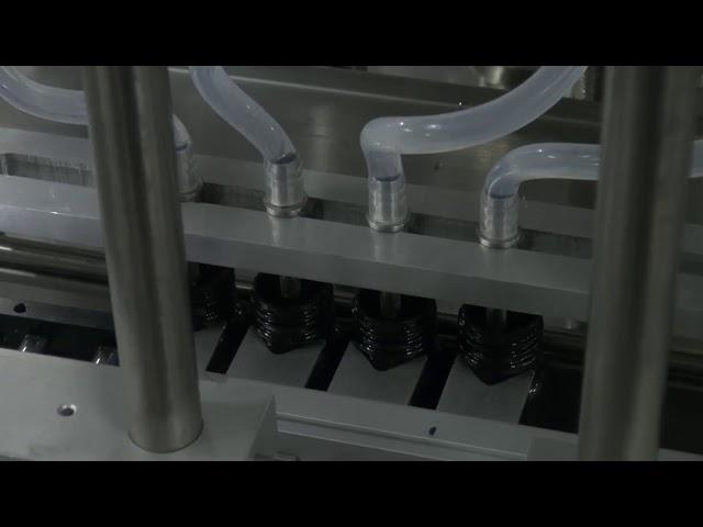 10ml-5l 6 kafa otomatik masaüstü doğru sıvı dolum makinası