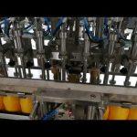 12 kafaları otomatik şişe dolum makinası ketçap yağları sos kozmetik