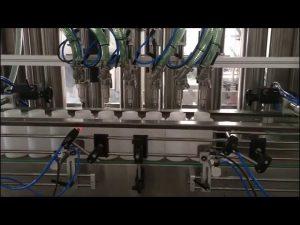 otomatik el dezenfektanı dolum makinası