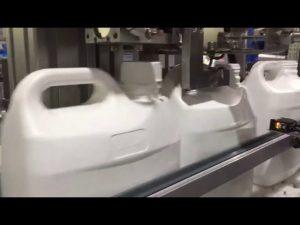 otomatik 4 nozul sıvı ve krem dijital dolum makinası