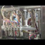 otomatik cam şişe zeytinyağı dolum makinası