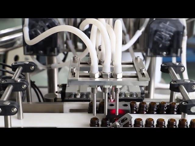 120ml zeytinyağı yıkama dolum ve kapatma makinesi