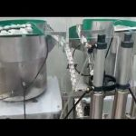 15ml 30ml göz damlası, CBD yağ cam damlalık şişe dolum kapatma makinesi