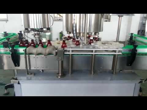 tam otomatik alüminyum kapaklı kapak kapatma makinesi