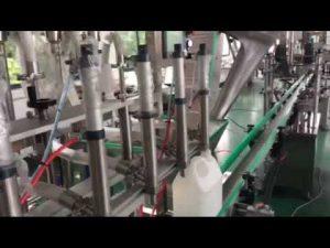 özel madeni yağ elektronik piston dolum hattı fiyat