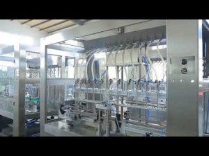 Fabrika otomatik doğrusal viskoz sıvı yemeklik yağ şişe kavanoz dolum makinası
