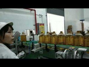 Yağlama mobil motor hidrolik araba pompası yağ şişesi dolum üretim hattı makinesi