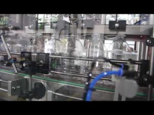otomatik el dezenfektanı jel sıvı dolum makinası