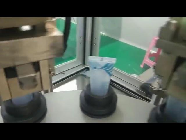 otomatik kozmetik ilaç gıda plastik tüp dolum yapıştırma makinesi