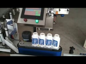 otomatik kendinden etiket yuvarlak ilaç etiketleme makinesi