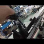 otomatik satır içi düz cam şişe alüminyum kapak ropp kapatma makinesi